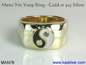 Mens Yin Yang Ring Significance And Meaning Of The Yin Yang