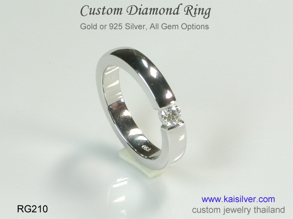 diamond band for men